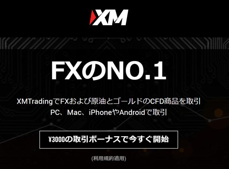 人気FX業者①XM口座開設その1